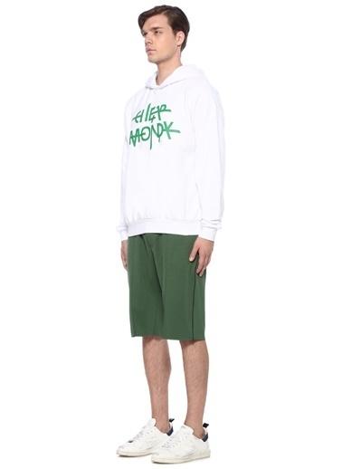 Cheap Monday Kapüşonlu Sweatshirt Beyaz